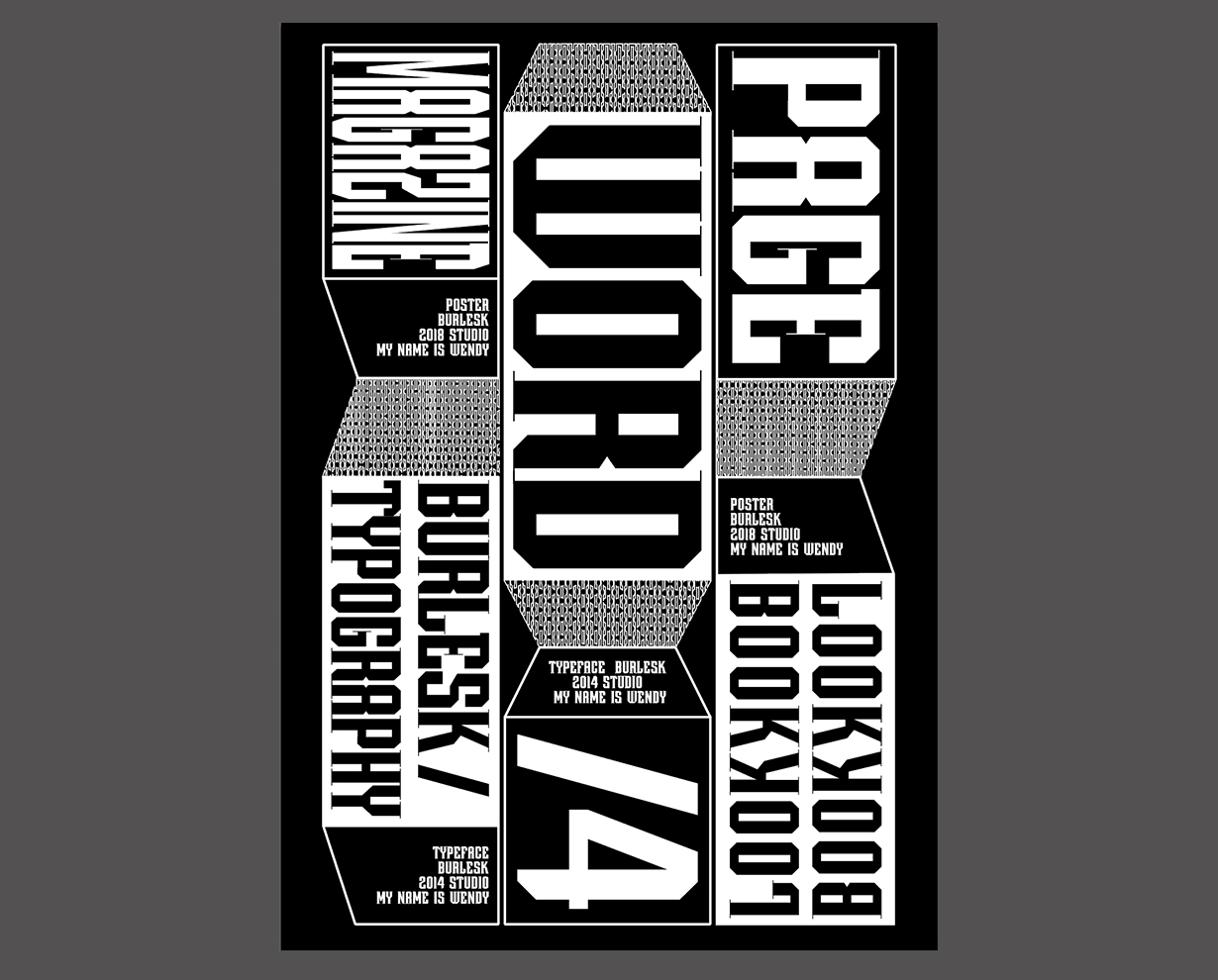 Free Modern Typography Poster Template